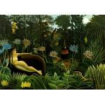 Grafika-Kids-00304 Pièces Magnétiques - Henri Rousseau : The Dream, 1910