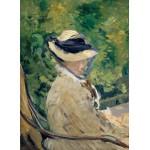 Grafika-Kids-00313 Edouard Manet : Madame Manet à Bellevue, 1880