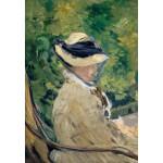 Grafika-Kids-00314 Edouard Manet : Madame Manet à Bellevue, 1880