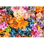 Grafika-Kids-00331 Bouquet Vintage de Fleurs Artificielles