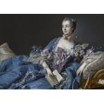 Grafika-Kids-00336 François Boucher : Madame de Pompadour, 1758