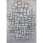 Grafika-Kids-00343 Piet Mondrian : Composition No.IV, 1914