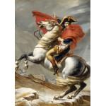 Grafika-Kids-00352 Pièces Magnétiques - Jacques-Louis David: Bonaparte franchissant le Grand Saint-Bernard, 20 mai 1800