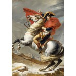 Grafika-Kids-00353 Pièces XXL - Jacques-Louis David: Bonaparte franchissant le Grand Saint-Bernard, 20 mai 1800