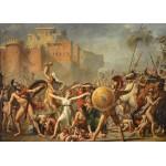 Grafika-Kids-00357 Pièces Magnétiques - Jacques-Louis David: Les Sabines, 1799