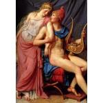 Grafika-Kids-00365 Jacques-Louis David: L'amour d'Hélène et Paris (détail), 1788