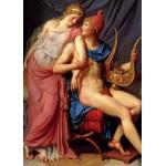 Grafika-Kids-00366 Jacques-Louis David: L'amour d'Hélène et Paris (détail), 1788