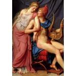 Grafika-Kids-00368 Pièces XXL - Jacques-Louis David: L'amour d'Hélène et Paris (détail), 1788