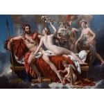 Grafika-Kids-00372 Pièces Magnétiques - Jacques-Louis David: Mars désarmé par Vénus, 1824