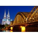 Grafika-Kids-00398 Pièces XXL - Cathédrale et Pont Hohenzollern de Cologne