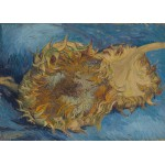Grafika-Kids-00431 Pièces Magnétiques - Van Gogh Vincent : Tournesols, 1887