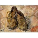 Grafika-Kids-00436 Pièces Magnétiques - Van Gogh Vincent : Chaussures, 1888