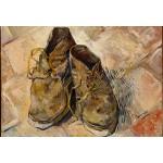 Grafika-Kids-00437 Pièces XXL - Van Gogh Vincent : Chaussures, 1888