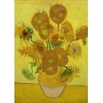 Grafika-Kids-00451 Pièces Magnétiques - Van Gogh Vincent : Les Tournesols, 1887