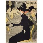 Grafika-Kids-00453 Henri de Toulouse-Lautrec: Divan Japonais, 1892-1893