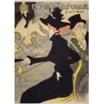 Grafika-Kids-00455 Pièces Magnétiques - Henri de Toulouse-Lautrec: Divan Japonais, 1892-1893