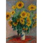 Grafika-Kids-00459 Pièces Magnétiques - Claude Monet: Bouquet de Tournesols, 1881