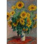 Grafika-Kids-00460 Pièces XXL - Claude Monet: Bouquet de Tournesols, 1881