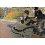 Grafika-Kids-00470 Pièces XXL - Claude Monet: Camille Monet, 1873