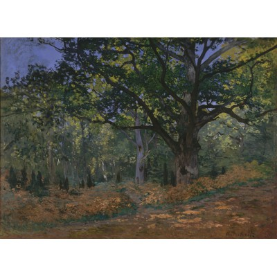 Grafika-Kids-00471 Claude Monet: Fontainebleau, 1865