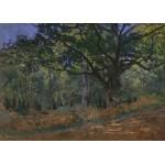 Grafika-Kids-00474 Pièces Magnétiques - Claude Monet: Fontainebleau, 1865