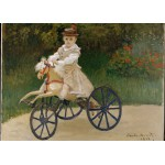 Grafika-Kids-00479 Pièces Magnétiques - Claude Monet: Jean Monet, 1872