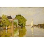 Grafika-Kids-00481 Claude Monet: Maisons sur le Achterzaan, 1871