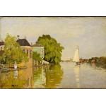 Grafika-Kids-00484 Pièces XXL - Claude Monet: Maisons sur le Achterzaan, 1871