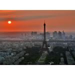 Grafika-Kids-00500 Coucher de Soleil sur Paris
