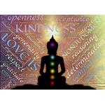 Grafika-Kids-00553 Pièces Magnétiques - Bouddha