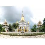 Grafika-Kids-00558 Pièces Magnétiques - Temple Buu Long