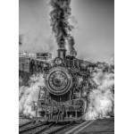 Grafika-Kids-00613 Pièces Magnétiques - Locomotive à Vapeur