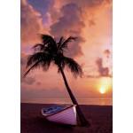 Grafika-Kids-00621 Coucher de Soleil au Paradis