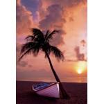 Grafika-Kids-00624 Pièces XXL - Coucher de Soleil au Paradis