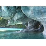 Grafika-Kids-00668 Pièces Magnétiques - Grotte de Marbre Bleu, Chili
