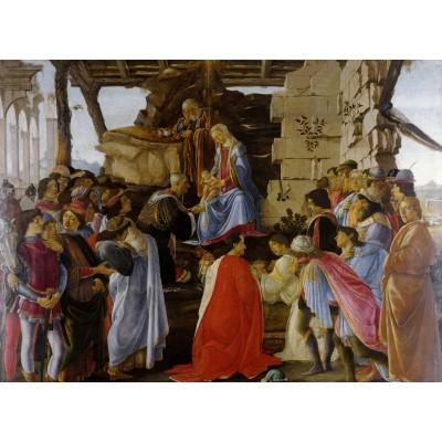 Grafika-Kids-00690 Sandro Botticelli: Adoration of the Magi (Zanobi Altar), 1475