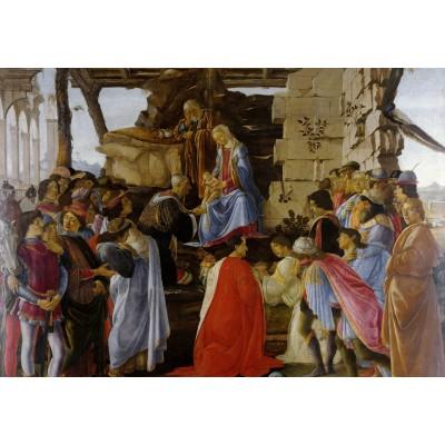 Grafika-Kids-00691 Sandro Botticelli: Adoration of the Magi (Zanobi Altar), 1475