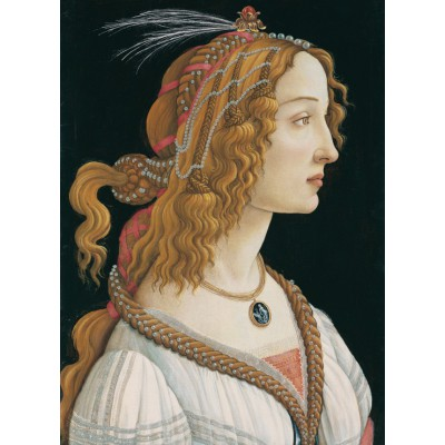 Grafika-Kids-00694 Sandro Botticelli: Portrait de Jeune Femme, 1494