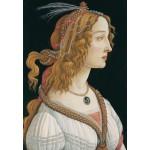 Grafika-Kids-00695 Sandro Botticelli: Portrait de Jeune Femme, 1494
