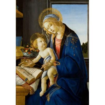 Grafika-Kids-00697 Sandro Botticelli: La Madone du Livre, 1480