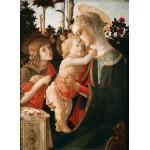 Grafika-Kids-00702 Sandro Botticelli: La Vierge à l'Enfant, le Jeune Saint Jean-Baptiste, 1470-1475