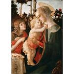 Grafika-Kids-00703 Sandro Botticelli: La Vierge à l'Enfant, le Jeune Saint Jean-Baptiste, 1470-1475