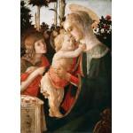 Grafika-Kids-00706 Pièces XXL - Sandro Botticelli: La Vierge à l'Enfant, le Jeune Saint Jean-Baptiste, 1470-1475
