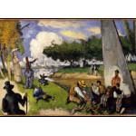 Grafika-Kids-00707 Paul Cézanne: Les Pêcheurs (Scène Fantastique), 1875