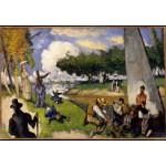 Grafika-Kids-00708 Paul Cézanne: Les Pêcheurs (Scène Fantastique), 1875