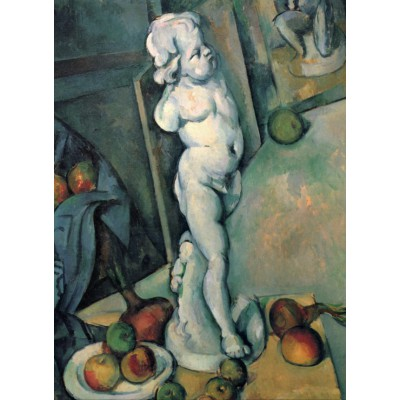 Grafika-Kids-00709 Paul Cézanne: Nature Morte au Cupidon de Plâtre, 1895