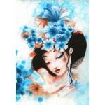 Grafika-Kids-00739 Misstigri : Blue Flowers