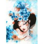 Grafika-Kids-00741 Misstigri : Blue Flowers