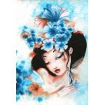 Grafika-Kids-00743 Pièces XXL - Misstigri : Blue Flowers