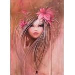 Grafika-Kids-00746 Pièces magnétiques - Misstigri : Sweet Pinky Girl